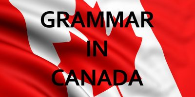 grammar in canada